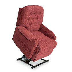 Seatcraft Harmony Burgundy Fabric Lift Recliner – Power Recline – Lift Chair