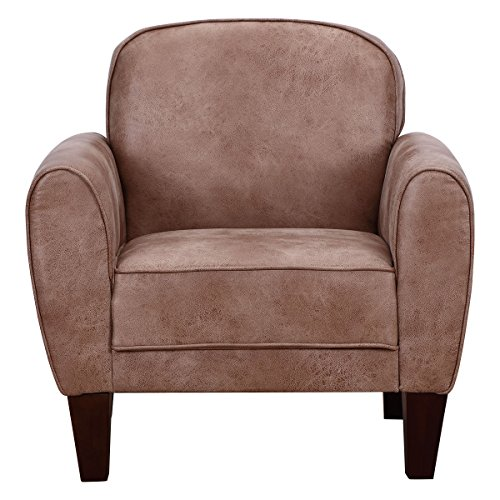 Sofa leisure arm chair single accent upholstered living room office furniture gvdesigns for Upholstered living room chairs with arms