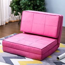 Harper & Bright Designs Convertible Futon Flip Chair Sleeper Bed Couch Sofa Seating Lounger  ...