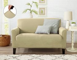Form Fit Stretch, Stylish Furniture Cover / Protector Featuring Lightweight Twill Fabric. Dawson ...