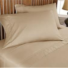 Twin Sleeper Sofa Bed Sheet Set (36″x72″x6″) , Taupe Plain Color, 100 Percent  ...