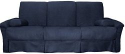 Tango Perfect Sit & Sleep Pocketed Coil Inner Spring Pillow Top Sofa Sleeper Bed, Queen-size ...