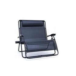 Creative Outdoor Zero Gravity Folding Love Seat