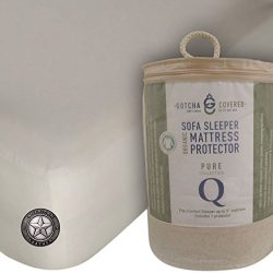 American Leather Comfort Sleeper 100% Organic Sofa Sleeper Mattress Protector – Queen Size