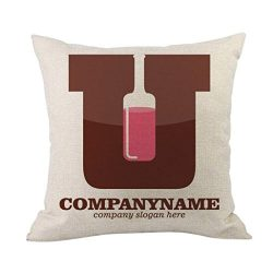 Clearance Pillowcase, Leyorie Multicolor Happy Valentine Pillow Case Sofa Cushion Cover Home Dec ...