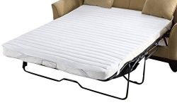 Madison Park Essentials – Frisco Fine Quality Microfiber Quilted Sofa Bed Pad – Fits ...