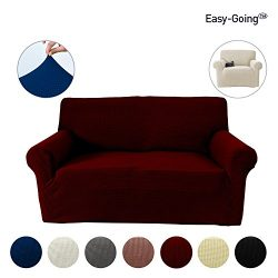 Stretch Slipcovers, Sofa Covers, Furniture Protector with Elastic Bottom, Anti-Slip Foam, Couch, ...