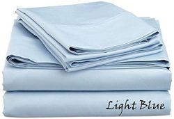Luxurious Finish 500 Thread Count Comfortable Sleeper Sofa Bed Sheets Set, Egyptian Cotton ̵ ...