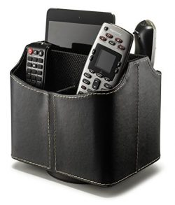 Stock Your Home Remote Control Holder Organizer Uses Include TV Remote Control Organizer Caddy,  ...