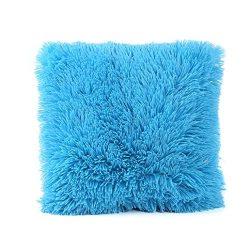 Usstore 1PC Decorative Pillowcases Zipper Plush Throw Pillow Cover Cafe Home Decoration for Livi ...