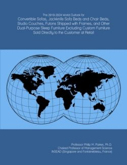 The 2019-2024 World Outlook for Convertible Sofas, Jackknife Sofa Beds and Chair Beds, Studio Co ...