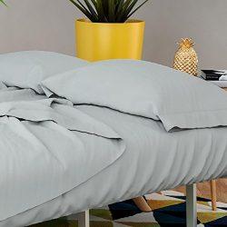 Novogratz Futon & Twin Sleeper Sofa Sheet Set – Brushed microfiber 90 GSM – Wrin ...