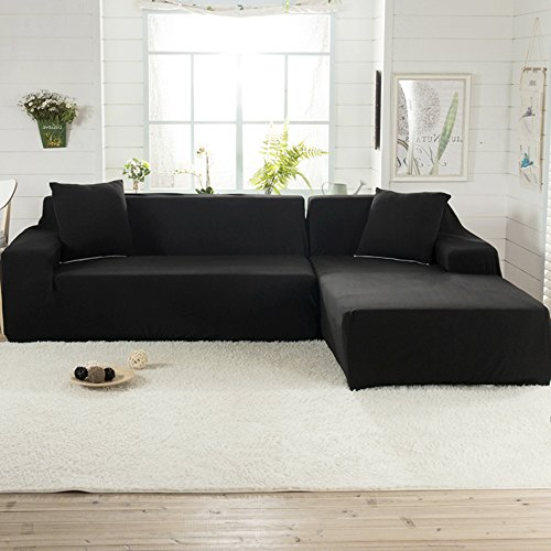 Littlegrass Stretch Sectional Sofa Covers For L Shape