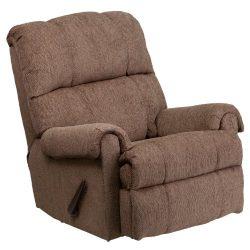 Flash Furniture Contemporary Tahoe Bark Chenille Rocker Recliner