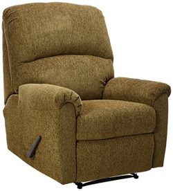 Ashley Furniture Signature Design – Pranit Recliner – Manual Reclining Chair – ...