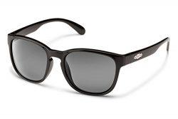 Suncloud Loveseat Polarized Sunglasses, Black Frame, Gray Lens