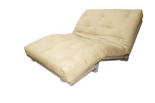Houston Mission Style Convertible Futon Lounger Queen