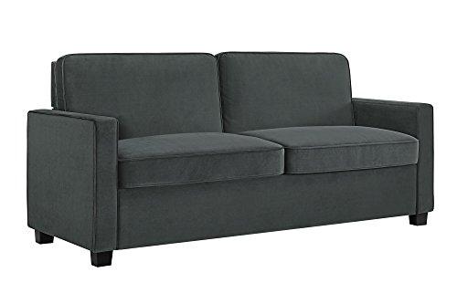 Signature Sleep Casey Velvet Sofa With Memory Foam