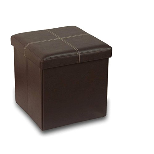 Otto Amp Ben 15 Quot Storage Ottoman With Memory Foam Seat
