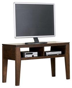 Ashley Furniture Signature Design – Deagan TV Stand – 2 Storage Cubbies – Cont ...
