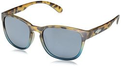 Suncloud Loveseat Sunglasses, Mt Tortoise Blue Fade Frame/Silver Mirror Polycarbonate Lens, One Size