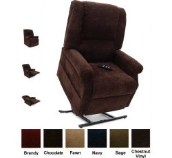 Mega Motion Infinate Position Power Easy Comfort Lift Chair Lifting Recliner FC-101 Infinite Rec ...