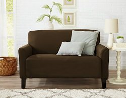 Form Fit, Slip Resistant, Stylish Furniture Cover / Protector Featuring Lightweight Stretch Twil ...