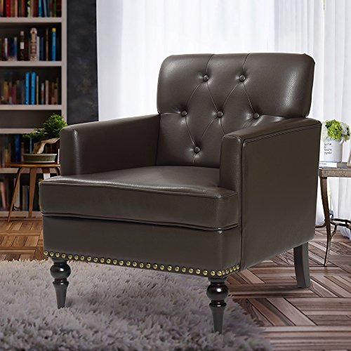 Finnkarelia Accent Chair For Living Room Mid Century Arm