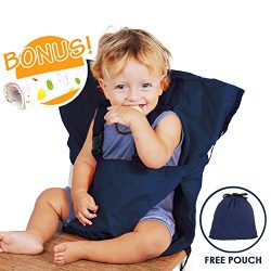 Baby HighChair Harness | Portable Travel Safety Belt Booster Feeding High Chair Seat Cover Sack  ...