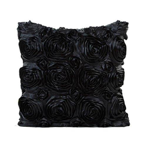 Goddessvan Rose Square Sofa Waist Throw Cushion Cover Home Decor Cushion Cover Case 16.9X16.9&#8 ...
