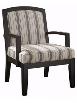 Ashley Furniture Signature Design – Alenya Accent Chair – Linen Blend Upholstery  ...