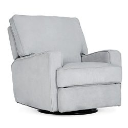 BELLEZE | Recliner Chair | Upholstered | Linen | Swivel | Gliding | Rocker | Footrest | Living R ...