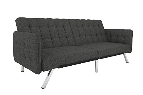 Dhp Emily Convertible Futon And Sofa Sleeper Modern Style