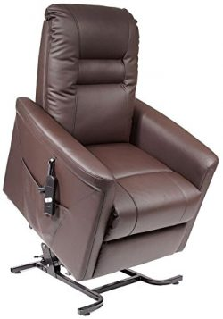 Granville 3 Position Lift Chair Recliner Designed by Golden Technologies for SpinLife, Mocha