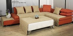 OctoRose Quilted Micro Suede Sectional Sofa Throw Pad Furniture Protector Sold By Piece Rather T ...