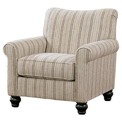 Ashley Furniture Signature Design – Milari Accent Chair – Classic Style Side Chair & ...