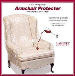 LAMINET Armchair/Recliner Cover – Clear