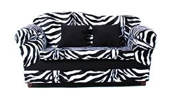 KEET Wave Kid's Sofa, Zebra