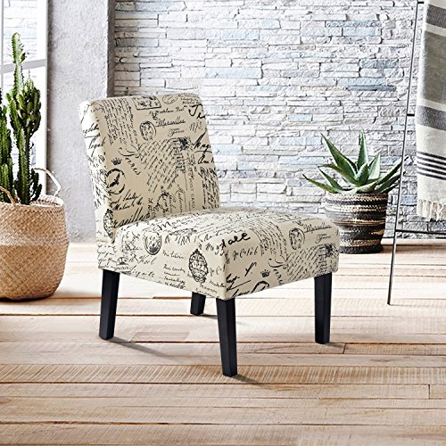 Harper Amp Bright Designs Fabric Accent Chair Living Room