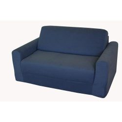 Fun Furnishings Kid's Sofa Sleeper, Denim