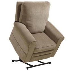 Catnapper Edwards 4851 Power Lift Chair & Recliner – Mushroom (curbside delivery)