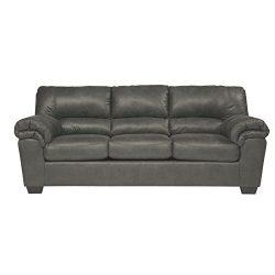 Ashley Furniture Signature Design – Bladen Contemporary Plush Sofa Sleeper – Full Si ...