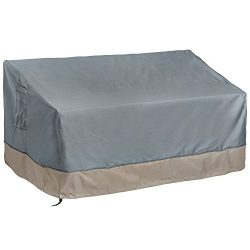 VonHaus 3 Seater Patio Bench Loveseat Cover – 'The Storm Collection' Premium Heavy Duty Wa ...