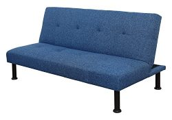 Beverly Fine Furniture SH2107 Futon, Blue