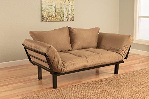 Best Futon Lounger Sit Lounge Sleep Smaller Size Furniture
