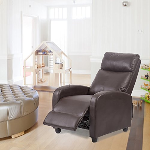Bestmassage Recliner Chair Single Sofa Couch Accent Club