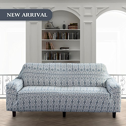Light Grey Sofa Slipcover: Lamberia Spandex Fabric Stretch Sofa Slipcover Couch