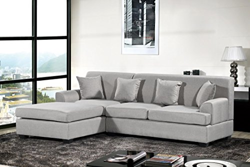 Oliver Smith Large Light Grey Linen Cloth Modern