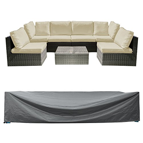 Sectional Couch Covers Waterproof: Patio Sectional Sofa Set Cover Outdoor Furniture Covers