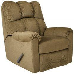 Ashley Furniture Signature Design – Raulo Recliner Chair – Manual Reclining – Moss